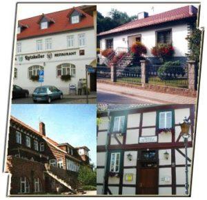 Übernachtungsmöglichkeiten in Ballenstedt